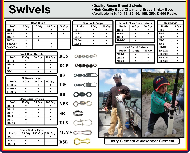 Swivels – Brad's Killer Fishing Gear