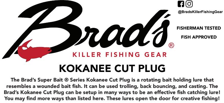 Tech Sheets – Brad's Killer Fishing Gear